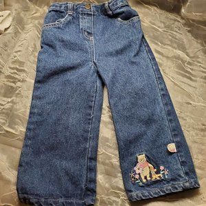 24 Months 2T Girl Jeans Disney Winnie The Pooh